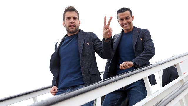 Jordi Alba i Pedro, baixant de l