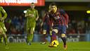 Sanabria v Sporting de Gijón / PHOTO: ARCHIVE-FCB