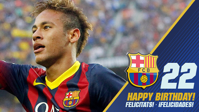 happy birthday neymar fc barcelona. Black Bedroom Furniture Sets. Home Design Ideas