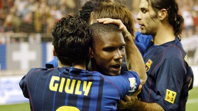 Sevilla v Barça (2004/05). PHOTO: MIGUEL RUIZ-FCB.