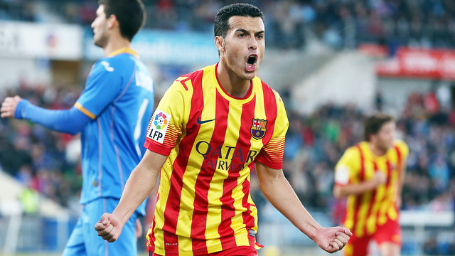 Pedro reaches 250 game mark with FC Barcelona / PHOTO: MIGUEL RUIZ - FCB