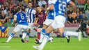 Messi during the first leg game / PHOTO: ARCHIVE - FCB