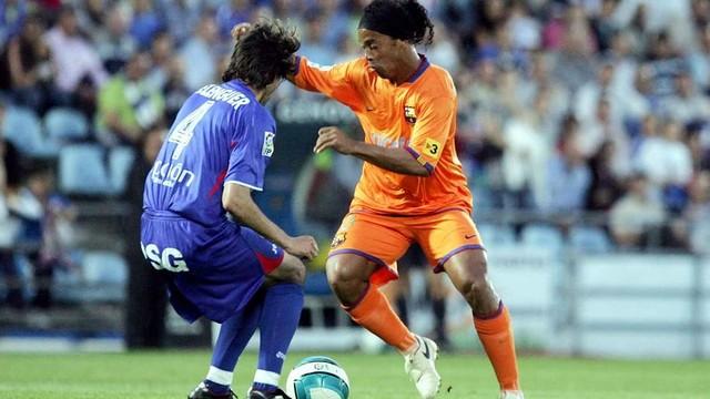 Ronaldinho. PHOTO: MIGUEL RUIZ - FCB