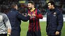 Piqué and Valdés / PHOTO: MIGUEL RUIZ-FCB