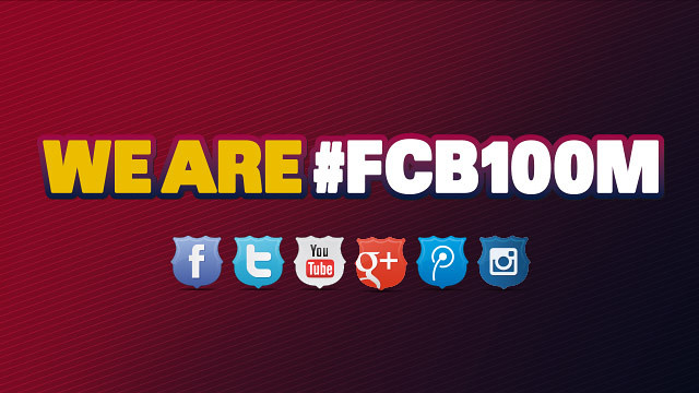 El FC Barcelona supera los 100 millones de seguidores en las redes sociales