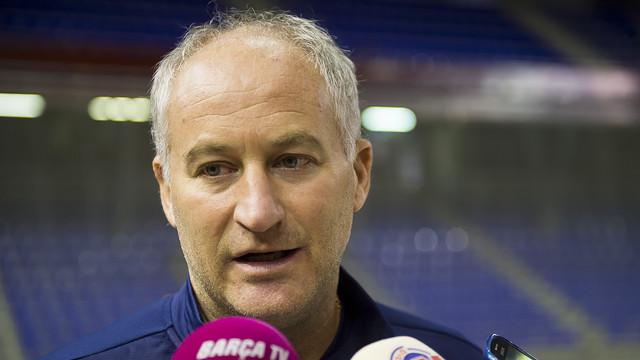 Marc Carmona cree que el partido servirá para ver en que nivel se encuentra el equipo