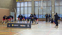 Clinic directed by FC Barcelona basketball veterans at CEM Mundet. PHOTO: GERMÁN PARGA / FCB