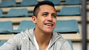 Interview with Alexis Sánchez. PHOTO: MIGUEL RUIZ-FCB.