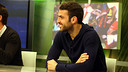 Cesc Fàbregas was speaking to ''El Marcador' on Barça TV / PHOTO: MIGUEL RUZ - FCB