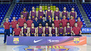 La fotografia oficial del Barça de bàsquet