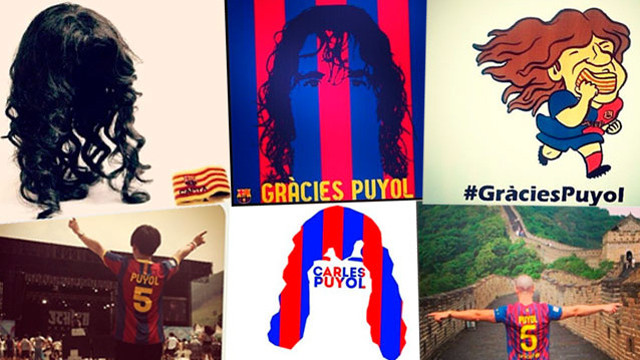 #GràciesPuyol - fans react to Puyol's announcement