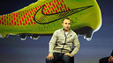 Andrés Iniesta was speaking at the launch of the latest Nike boots. PHOTO: GERMÁN PARGA - FCB