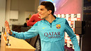 Bartra gave a press conference on Thursday afternoon / PHOTO: MIGUEL RUIZ-FCB