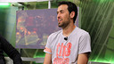 Sergio Busquets on Barça TV's  'El Marcador' / PHOTO: MIGUEL RUIZ - FCB