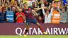 Alexis celebrates his goal against Madrid.