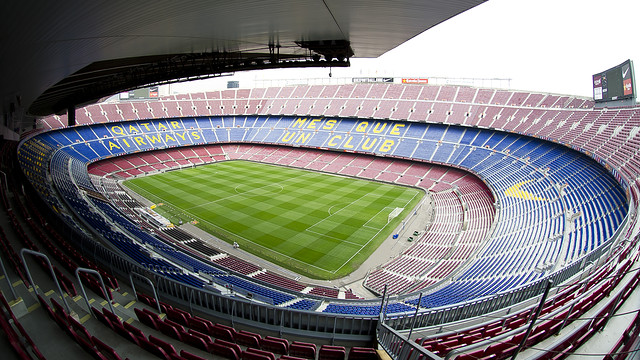 The Camp Nou will host the first leg of the Champions League quarter final / FOTO: FCB