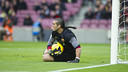 Pinto already has first team experience this season. PHOTO: VÍCTOR SALGADO-FCB.