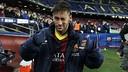 Neymar, golejador contra el Celta. FOTO: MIGUEL RUIZ-FCB.
