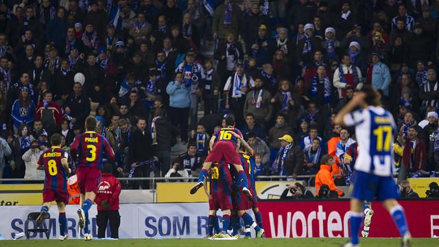 Espanyol v Barça (2010/11). PHOTO: MIGUEL RUIZ-FCB.