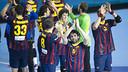 Los azulgranas esperan rival en Europa./FOTO:Víctor Salgado-FCB