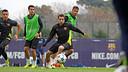 The Champions squad / PHOTO: MIGUEL RUIZ - FCB