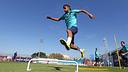 Neymar in training