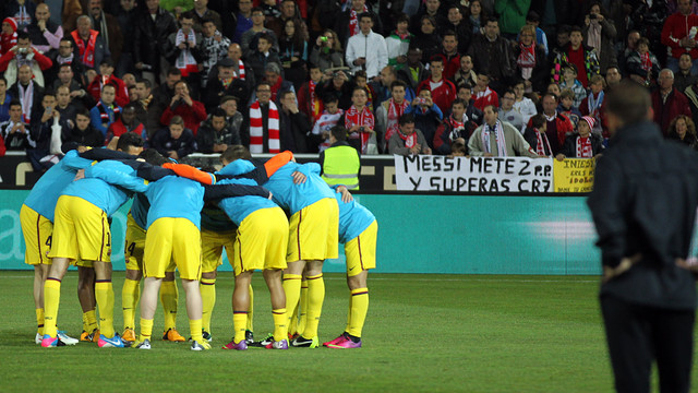 Barça came from behind at Granada last season. PHOTO: MIGUEL RUIZ - FCB.
