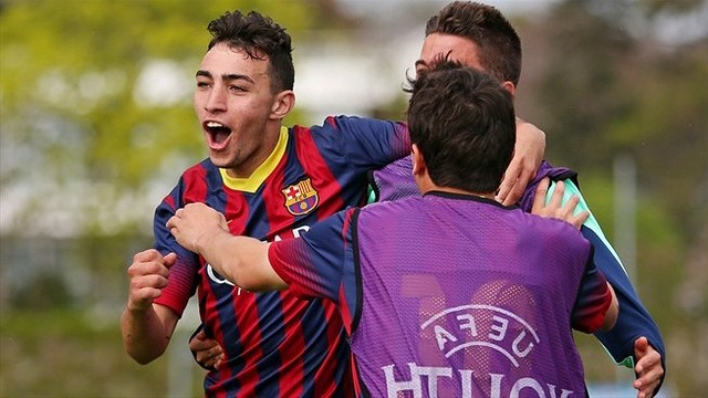 Munir grabbed the winner at the Colovray Stadium, Nyon / PHOTO: UEFA
