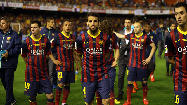 Barça lost the cup final to Real Madrid / PHOTO: MIGUEL RUIZ - FCB