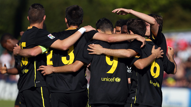 FC Barcelona won the first ever edition of the UEFA Youth League / PHOTO: MIGUEL RUIZ - FCB