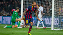 Dani Alves v Manchester City / PHOTO: MIGUEL RUIZ-FCB