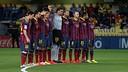 Emotivo minuto de silencio en El Madrigal a Tito Vilanova