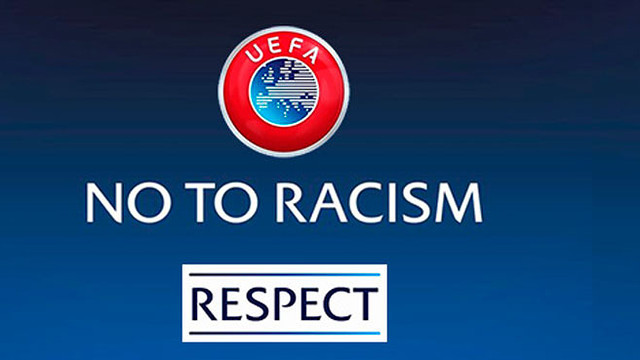 No to racism .