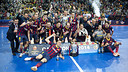 Spanish Cup Champions PHOTO: V. SALGADO - FCB