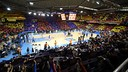 The Palau Blaugrana awaits the visit of old foes Real Madrid. PHOTO: MIGUEL RUIZ - FCB