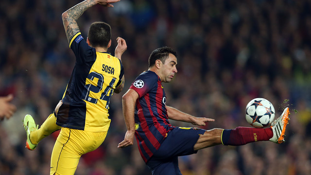 This will be Atlético Madrid's third visit to the Camp Nou this season. / PHOTO: MIGUEL RUIZ-FCB