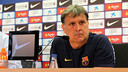 Gerardo 'Tata' Martino spoke to the press this lunchtime / PHOTO: MIGUEL RUIZ - FCB
