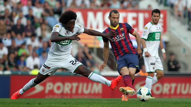 Mascherano has started the last 16 games / PHOTO: MIGUEL RUIZ-FCB