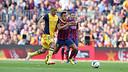 Alexis a marqué le but blaugrana / PHOTO: MIGUEL RUIZ - FCB
