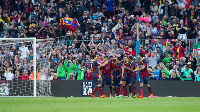 Barça goal against Betis. PHOTO: GERMÁN PARGA-FCB.