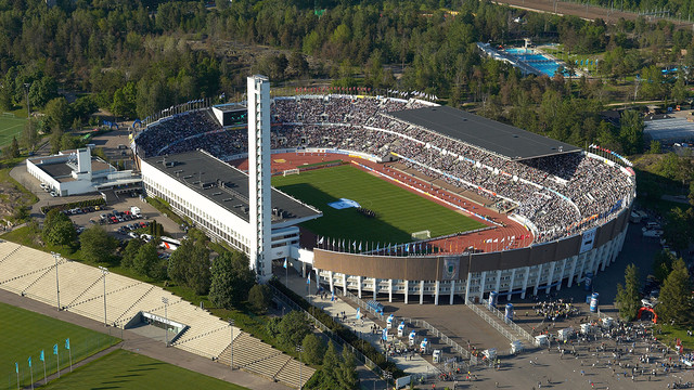 on Saturday 9 August in the Olympic Stadium in the Finnish capital