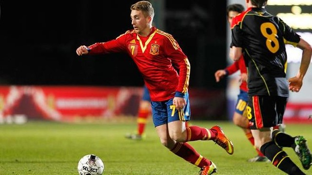 Gerard Deulofeu is set to make his full Spain debut / PHOTO: sefutbol.com