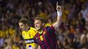 Víctor Tomàs was outstanding in Pamplona / PHOTO: VÍCTOR SALGADO - FCB