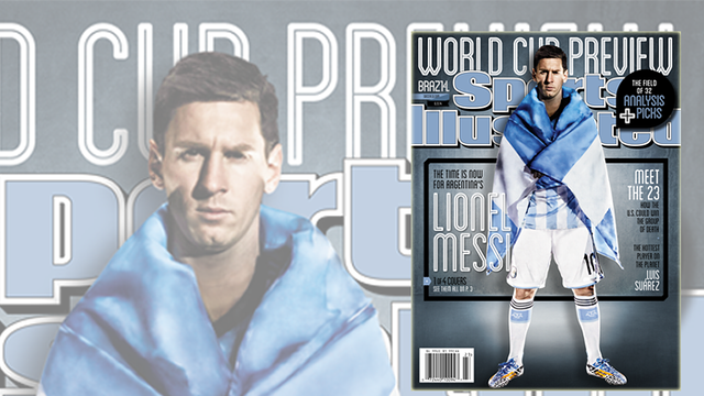 Sports Illustrated with Leo Messi
