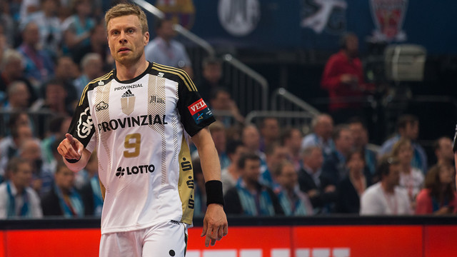 Sigurdsson, in his last match of the Final Four./PHOTO:German Parga-FCB