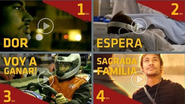 Imatge de les portades dels vídeos del brasiler