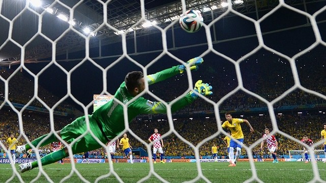 Neymar's second goal was scored from the penalty spot. PHOTO: fifa.com
