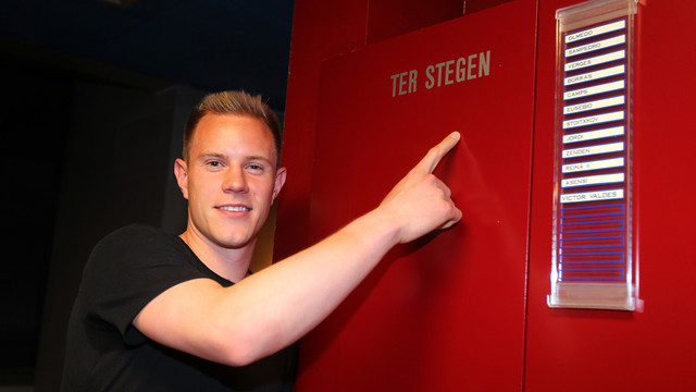 Marc-Andrés ter Stegen has moved from Germany to FC Barcelona / PHOTO: MIGUEL RUIZ - FCB