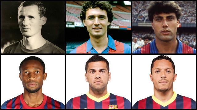 Gallego, Serna, Nando, Keita, Alves i Adriano