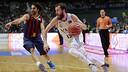 """Víctor Sada cree que el equipo """"tiene que defender mejor"""". / FOTO: ACB PHOTO"""